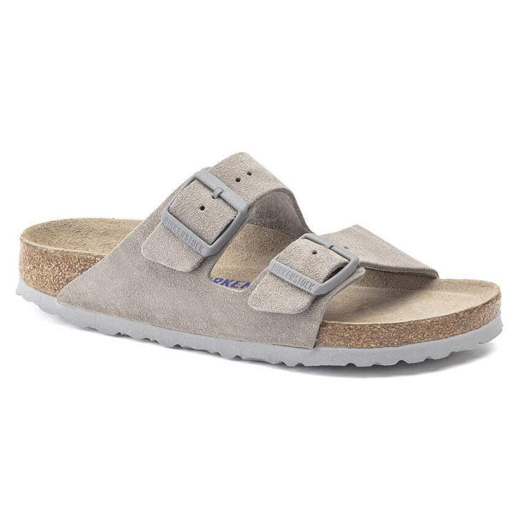 Birkenstock - Arizona Soft Footbed - Stone Coin Suede
