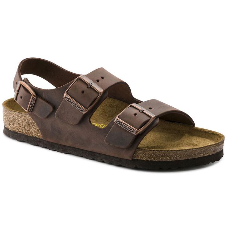 Birkenstock - Milano Sandal - Habana Oiled Leather