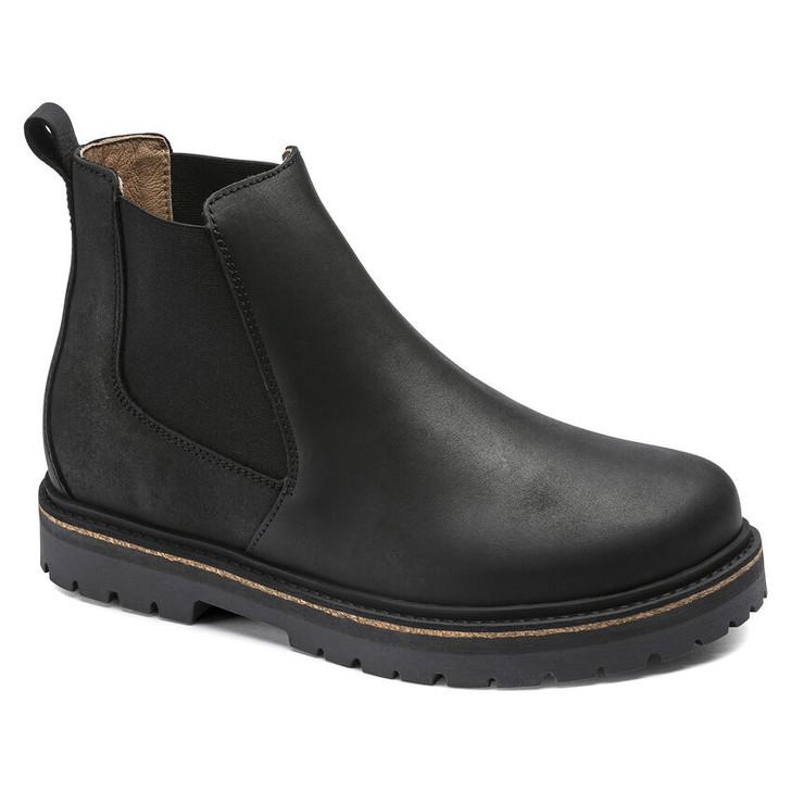 Birkenstock - Stalon Boot - Black Oiled Nubuck Leather