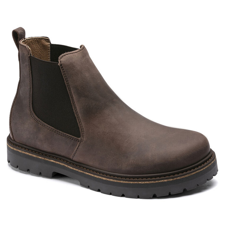 Birkenstock - Stalon Boot - Mocha Oiled Nubuck Leather