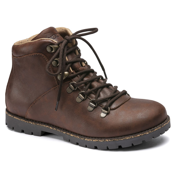 Birkenstock - Jackson Boot - Dark Brown Nubuck Leather