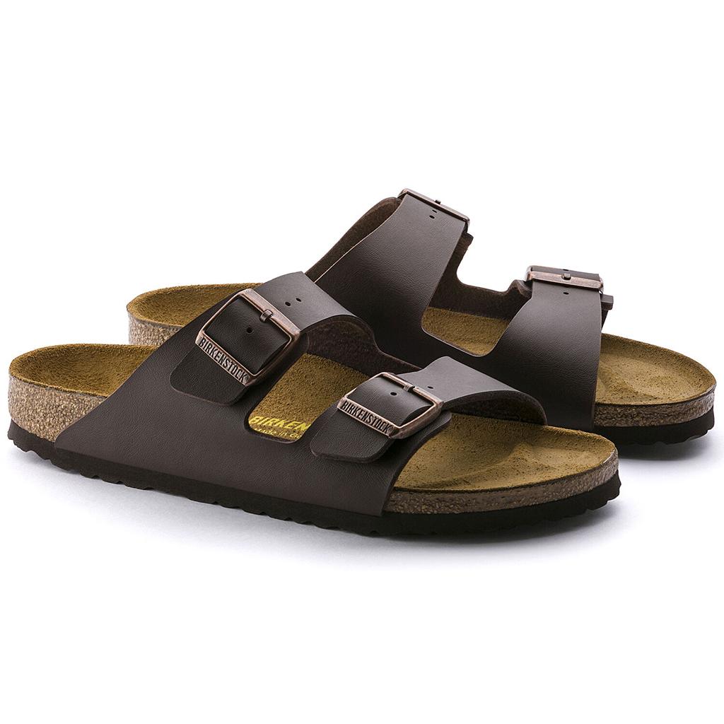 Birkenstock - Arizona Sandal - Dark Brown Birko-Flor