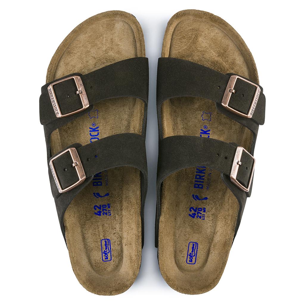 Birkenstock - Arizona Sandal - Soft Footbed - Mocha Suede