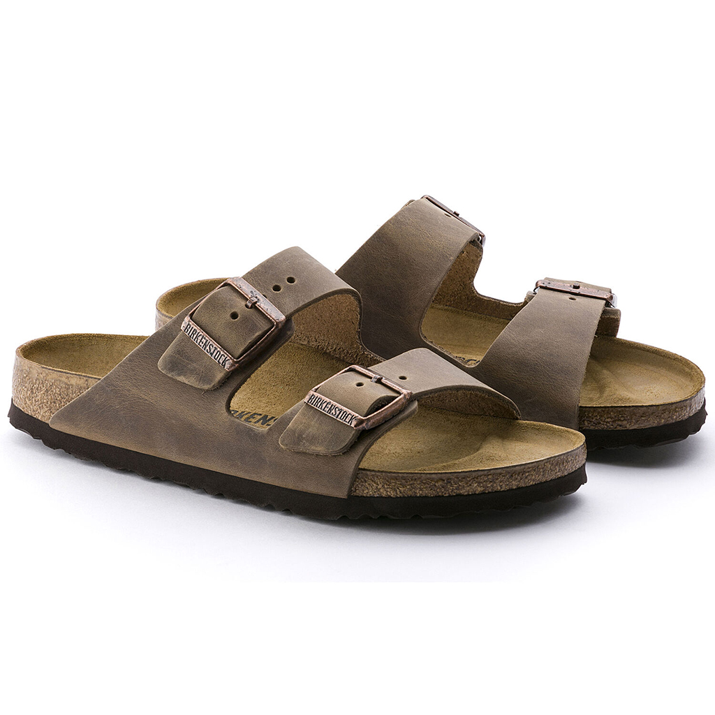 Birkenstock - Arizona Sandal - Tobacco Oiled Leather