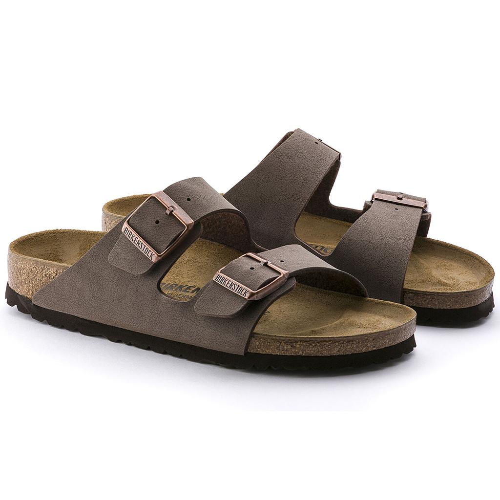 Birkenstock - Arizona Sandal - Birkibuc - Mocha