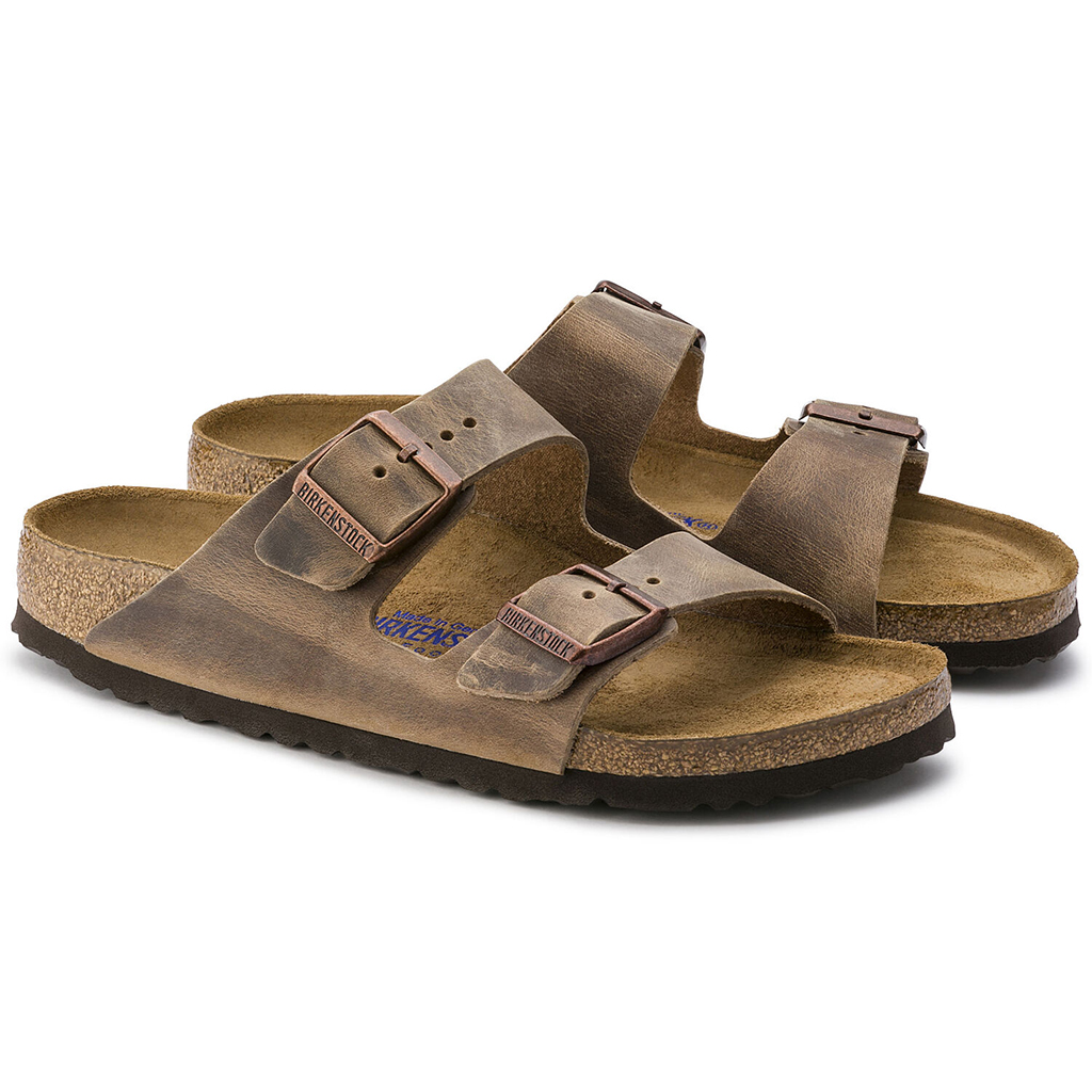 Birkenstock - Arizona Sandal - Soft Footbed - Tobacco Oiled Leather