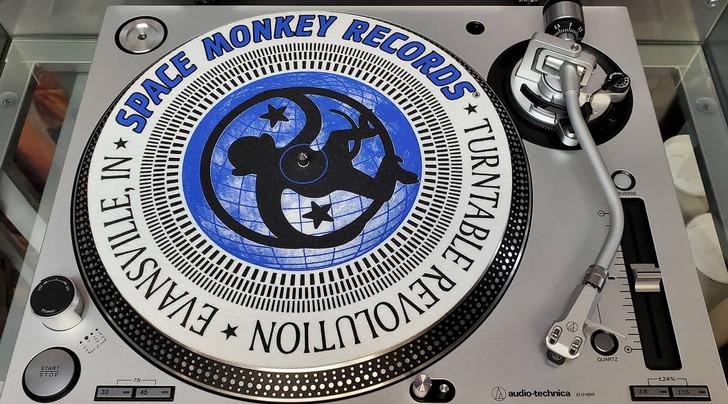Space Monkey Slip Mat