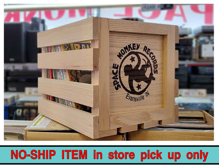 Space Monkey Record Crate - Tall Boy