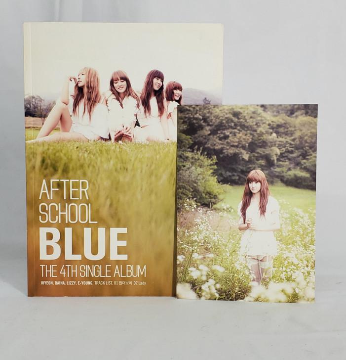 After School Blue 4th Single Album