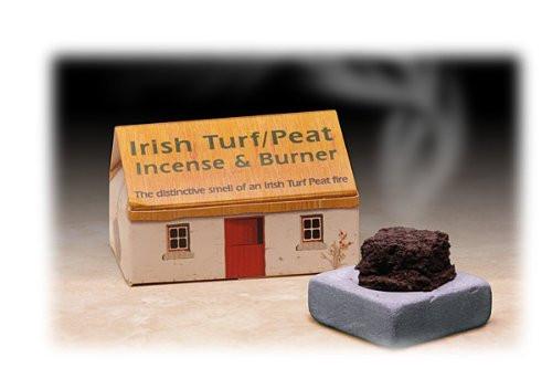 Ceramic Irish Truf Incense Burner