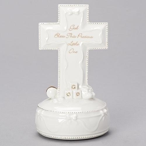 """God Bless Musical Cross 7"""""""