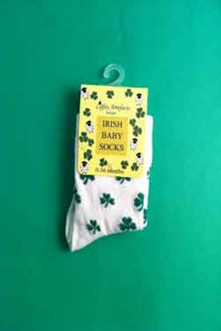 Irish Baby Socks