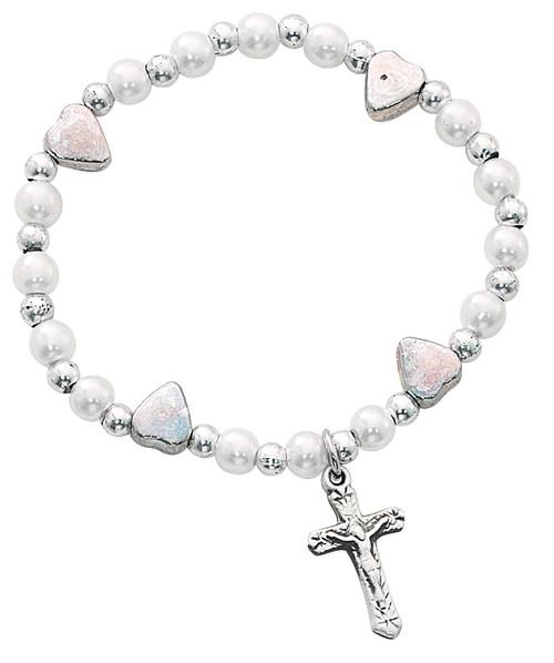Stretch Baby Bracelet Silver