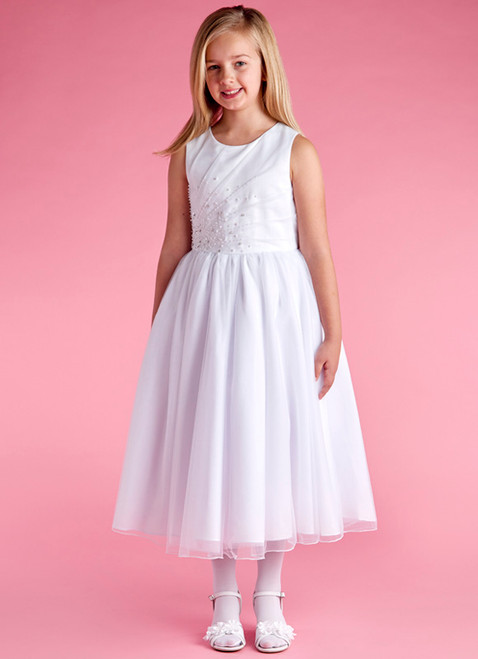 LM19070 Lauren Marie 1st Communion Dress