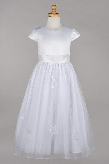 LM19078 Lauren Marie 1st Communion Dress
