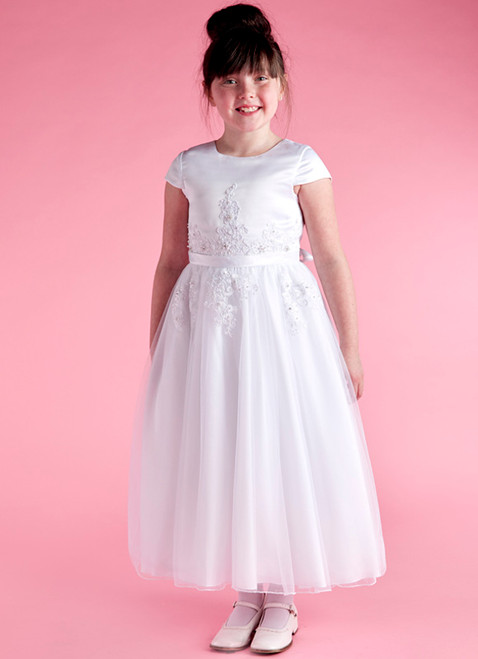 LM19082 Lauren Marie 1st Communion Dress