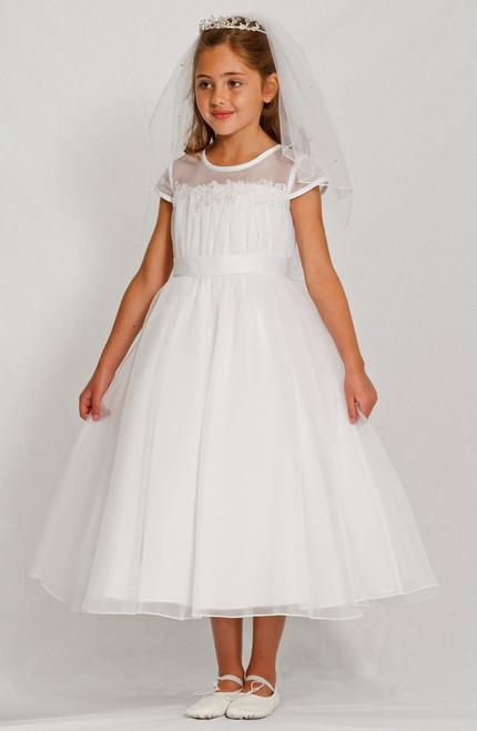 LM19083 Lauren Marie 1st Communion Dress