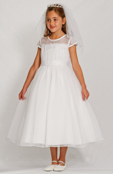 LM19083 Lauren Marie 1st Communion Dress
