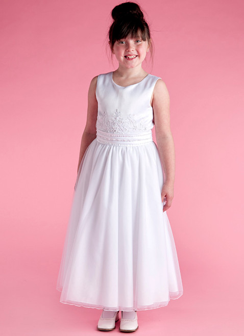 LM19072 Lauren Marie 1st Communion Dress