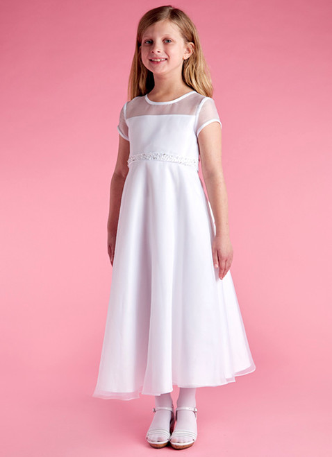 LM19063 Lauren Marie 1st Communion Dress