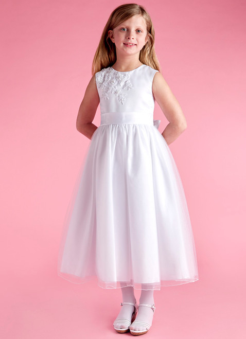 LM20065 Lauren Marie 1st Communion Dress