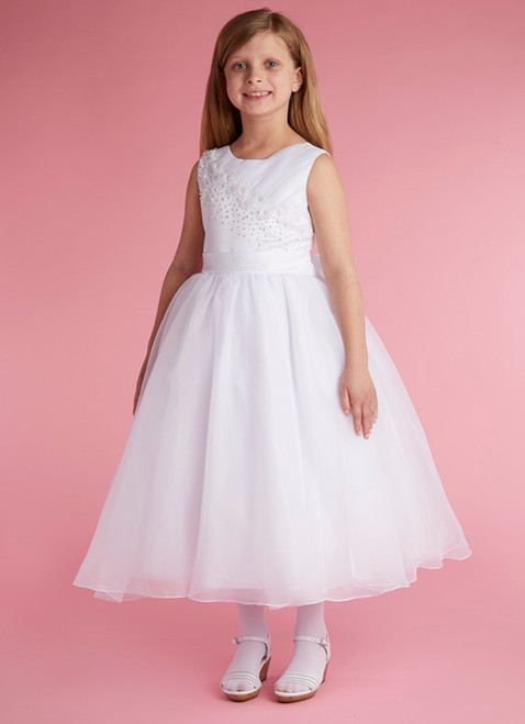 LM19074 Lauren Marie 1st Communion Dress