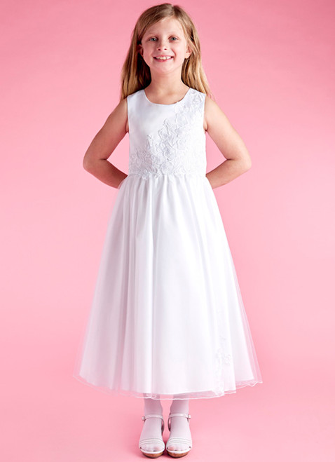 LM21075 Lauren Marie 1st Communion Dress
