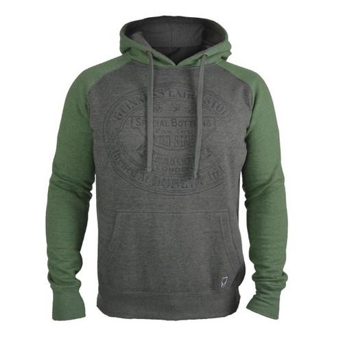Guinness Grey & Green Hoodie