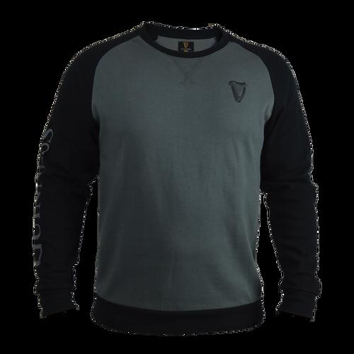 Guinness Long Sleeve Sweatshirt Grey/Black