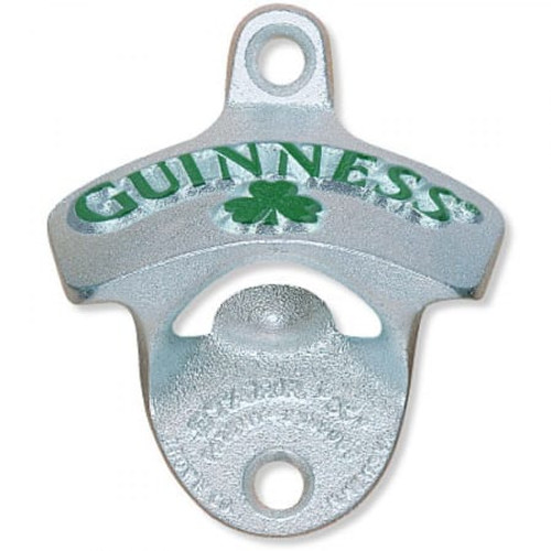 Guinness Bottle Opener Shamrock W/M