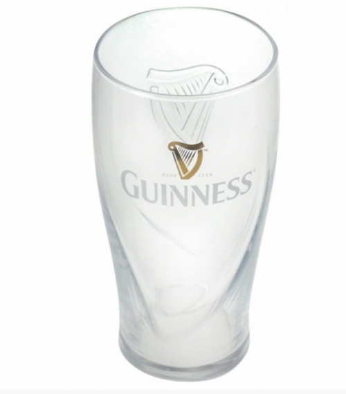 Guinness Half Pint Gravity Glass