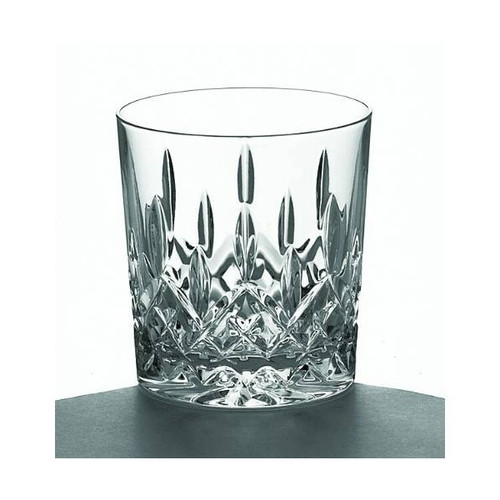 Crystal Double Old Fashioned Glasses (Pair)