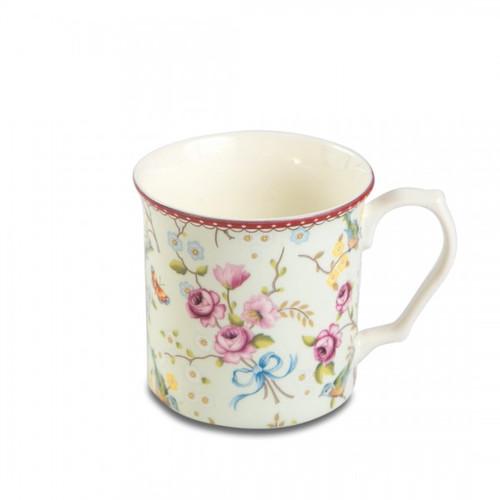 Shannonbridge Bird And Blossom 4 Pc Tankard Mug Set