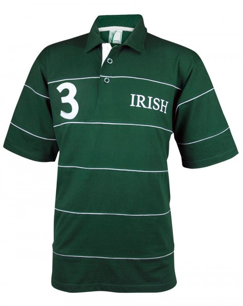 Croker Irish Green Piping Polo Shirt IR4020