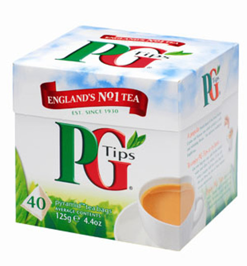 PG TIPS TEA 40'S