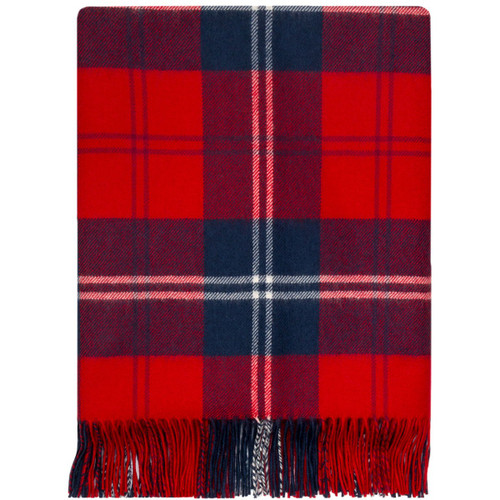 Ramsey Red Lambswool Throw