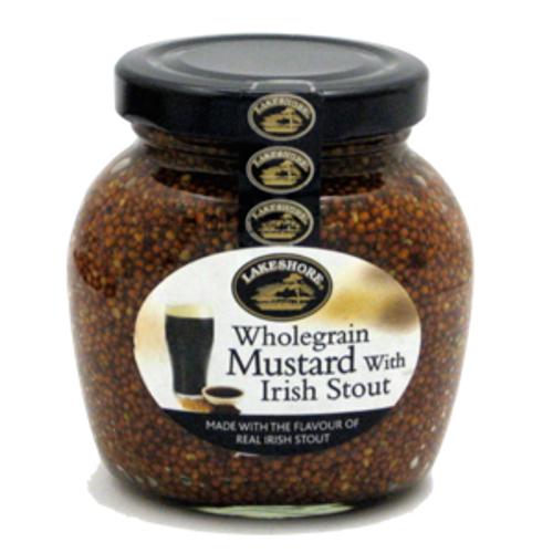 Lakeshore Wholegrain Mustard W/Stout