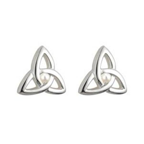 Solvar Children's Trinity Knot Earrings s/s