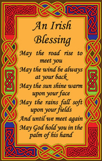 Tea Towel Old Irish Blessing