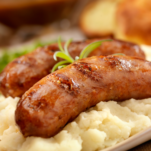 Irish/UK Style Jumbo Sausages (Bangers)