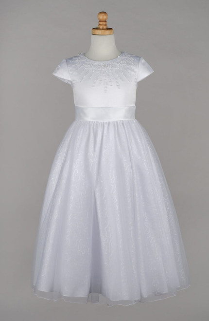 LM19079 Lauren Marie First Communion Dress