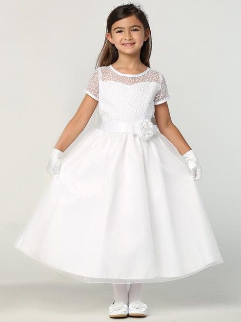 SP169 Sweet Pea and Lily First Communion Dress