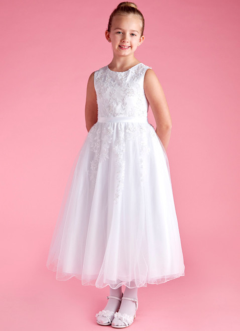 LM19090 Lauren Marie First Communion Dress