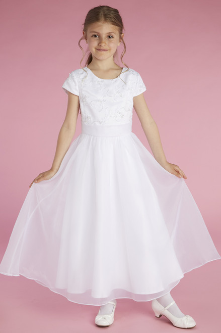 LM22074 Lauren Marie First Communion Dress
