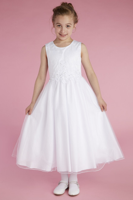 LM22079   Lauren Marie First Communion Dress