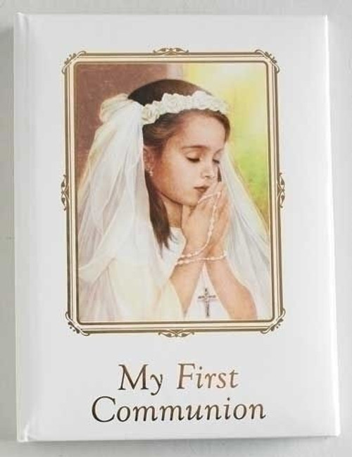 First Communion Photo Album, Girls 6.5""