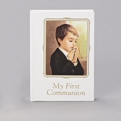 First Communion Book, Boys 5""
