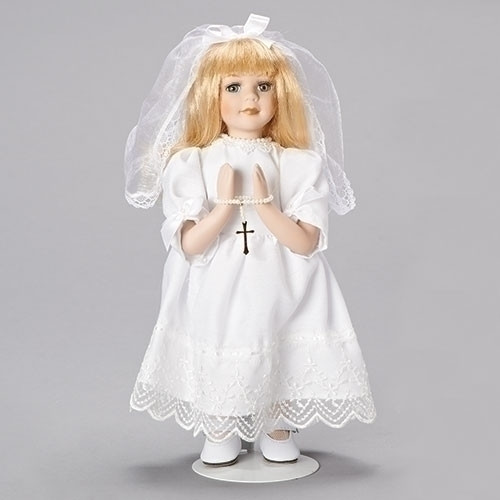 "Doll, 12 "" First Communion"
