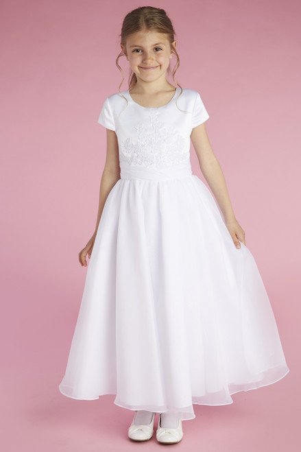 LM22068 Lauren Marie First Communion Dress