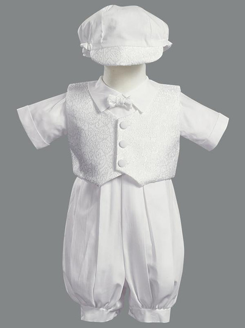 Baptism Boys Suit, Sweet Pea and Lilli